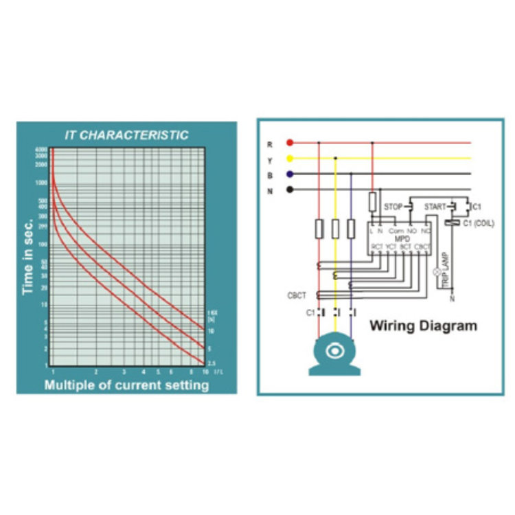 Energy Saver Device Circuit Diagram | Trinity Energy Systems Pvt Ltd Product Motor Protection Device